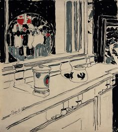 "DAVID MILNE ""106 West 61st Street Apartment"" watercolour on paper 19 x 16 3/4 in."