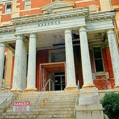 bull street columbia, south carolina | File:Babcock Building, South Carolina State Hospital.jpg - Wikimedia ...