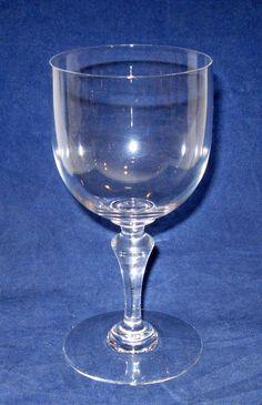 Baccarat Normandie Water Goblet Glass