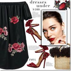 Dresses Under $100 by duma-duma on Polyvore featuring moda, Nannacay, KAROLINA and under100