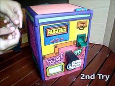 Cardboard Vending Machine | 100% PERFECTLY Made! - YouTube