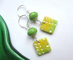 Lemon and Lime earrings