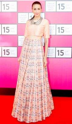 Alesia Raut at the Lakmé Fashion Week curtain-raiser. #Fashion #Style #Beauty #LFW