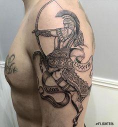 55 Best Sagittarius Tattoos Designs And Ideas With Meanings Beste Schütze Tattoos Designs und Ideen Weird Tattoos, Unique Tattoos, Body Art Tattoos, Tattoos For Guys, Cool Tattoos, Tatoos, Sagittarius Art, Sagittarius Tattoo Designs, Tattoo Sleeve Designs