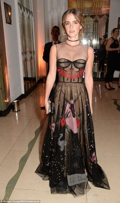 """Dazzle them in Dior like Emma Watson  Click """"Visit"""" to buy #DailyMail"""