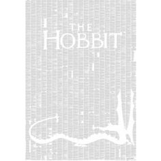 The Hobbit Novel Wall Decor by Spineless Classics