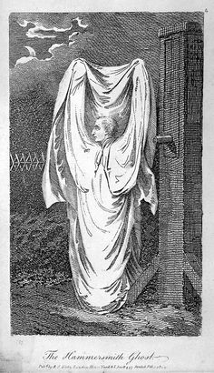 In 1803, London was seized by pure terror, as sightings of a macabre-looking ghost haunted the area of Hammersmith. It would eventually end in bloody murder and set a legal precedent for crimes committed in self-defense.