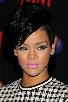 Rihanna's make up