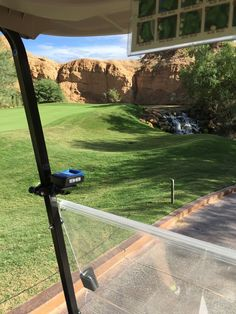"""Jon Johnsen sent in this picture of Wolf Creek Golf Club in Mesquite, Nevada. He says the course it is """"the most fun [he has] ever had on a golf course."""" That's high praise! Thanks Jon! #GolfCourseOfTheDay  Keep those golf course pictures coming Rock Heads! I Rock Bottom Golf #rockbottomgolf"""