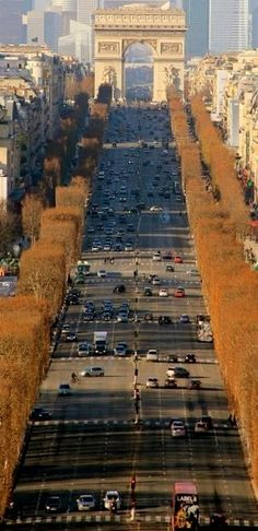 Champ Elysees, Paris, France- went round and round by bus. No lane line- no accidents Places Around The World, Oh The Places You'll Go, Travel Around The World, Places To Travel, Places To Visit, Around The Worlds, Paris Travel, France Travel, Beautiful Paris