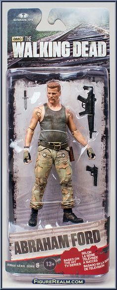 SKYBOUND Series 4 MOC McFarlane Toys The Walking Dead Abraham FORD