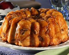 Monkey bread is a nutty, sweet favorite of everyone and so easy, even monkeys could make it.
