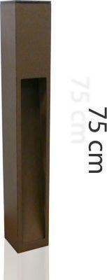 Wegeleuchte Aussenstehleuchte Kaan 75cm rost E27 10179 Jetzt bestellen unter: https://moebel.ladendirekt.de/lampen/stehlampen/standleuchten/?uid=52cea42e-2882-5f17-9d76-02d58689ade0&utm_source=pinterest&utm_medium=pin&utm_campaign=boards #stehlampen #heim #leuchten #lampen Bild Quelle: plus.de
