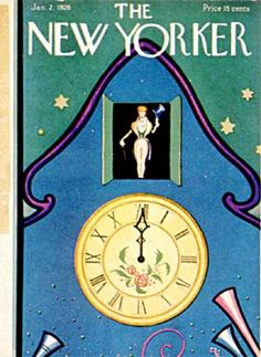 Betsy Murray : Cover art for The New Yorker 46 - 2 January 1926
