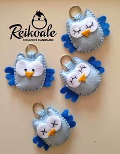 Cute felt owls by jan Cute felt owls by jan The post Cute felt owls by jan appeared first on Berable. Cute felt owls by jan Felt Owls, Felt Birds, Felt Animals, Sewing Toys, Sewing Crafts, Sewing Projects, Felt Keychain, Owl Crafts, Felt Decorations