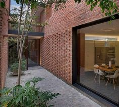 62 Best ideas for house exterior brick modern architects Brick In The Wall, Brick Wall Decor, Brick Walls, Brick Architecture, Architecture Details, Brick Cafe, African House, Brick Detail, Brick Construction