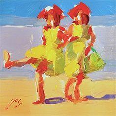 Beach Dancers by Sally Shisler