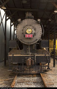 RailPictures.Net Photo: TVRM 610 Tennessee Valley Railroad Steam 2-8-0 at Chattanooga, Tennessee by KD Rail Photography