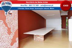 ARRENDAMENTO - Escritório às Belas Artes http://www.remax.pt/123551032-167 Comigo Está Vendido! Ana Rio : 963 717 081 : ario@remax.pt