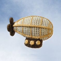 Crocheted Airship Pattern PDF by NeedleNoodles on Etsy, $4.00