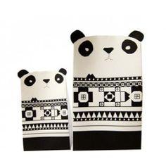 2 boites en papier Pandas #nuukk #tipiyou