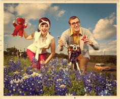 The bluebonnet photo.  Texas Monthly.