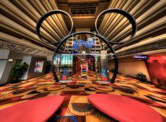 Fantasia at Disney's Contemporary Resort - great use of fisheye lens Resorts Da Disney, Disney Vacations, Disney Parks, Walt Disney World, Disneyland Hotel, Disneyland California, Downtown Disney, Disney Contemporary Resort, Disney Countdown