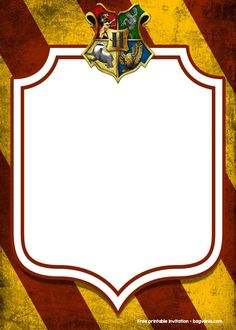 Free Printable Harry Potter Invitation Templates Harry Potter