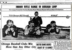 What Happened to Chicago's Rifle Ranges? Rifle sport shooting was once so popular in the city that even ComEd and schools had competitive teams. Today, there's not a range in sight.