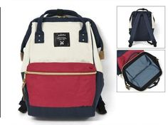 Anello Official Red, White & Blue Japan Fashion Backpack