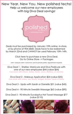 Winter diva deals have arrived! 2015