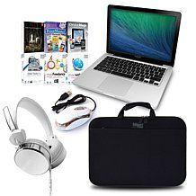 """Apple MacBook Pro® 13.3"""" Dual-Core, 256GB Laptop Bundle. HSN offers payment plans."""
