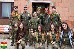 Kurds is Force, Union and Courage★ #TwitterKurds #Rojava #kobane  #Peshmerga #YPG #PKK #YPJ