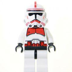 Shock Trooper Set: 7655 - Clone Troopers Battle Pack sw091 (2007)