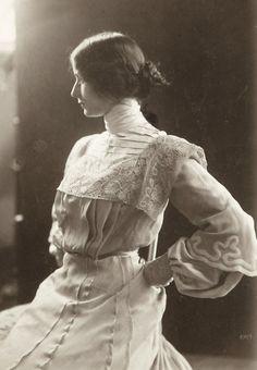 "carolathhabsburg: "" Cleo de Merode. Early 1900s. """