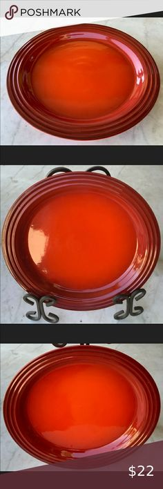 I just added this listing on Poshmark: LE CREUSET DINNER PLATE CERISE CHERRYRED STONEWARE. #shopmycloset #poshmark #fashion #shopping #style #forsale #Le Creuset #Other Green Dinner Plates, Dinner Plate Sets, Sweet Corn Dishes, Le Creuset Stoneware, Soup Bowl Set, Birthday Cake With Candles, Appetizer Plates, Pan Set, Cereal Bowls