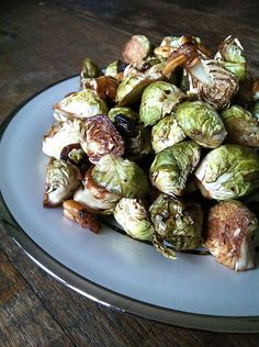 Recipe:   Balsamic Roasted Brussels