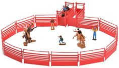 M&f Western Toy Kids Rodeo Bull Rider Play Set 2 PK Multi-color 50652 for sale online Rodeo Events, Cowgirl And Horse, Bull Riders, Cool Toys, Awesome Toys, Cool Cartoons, Kid Spaces, Toys For Boys, Horses