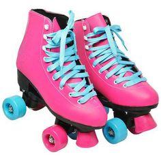 Foto 1 - Patins Roller 4 Rodas Quad Retrô Classico Feminino Tam 38 Rosa Roller Derby, Roller Skating, Ice Skating, Turquoise Cottage, Skates, Quad, Disney Junior, Fur Boots, Millie Bobby Brown
