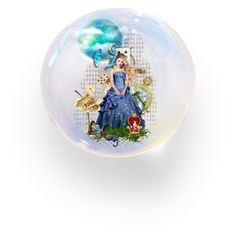 Alice Waits For You by sitkajewels on Polyvore featuring polyvore art set doll fantasy polyvoreset