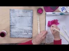 Acrylic Painting Techniques: Creative Textures Preview with Chris Cozen - http://www.7tv.net/acrylic-painting-techniques-creative-textures-preview-with-chris-cozen/