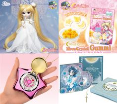 Sailor Moon candy, dolls, and music boxes! More new merch than you can shake a Moon Stick at