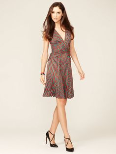 Cap Sleeve Printed Dress by Issa London  on Gilt.com