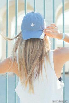 KKG Fluer de Lis Hat | Kappa Kappa Gamma | Sorority Recruitment | Bid Day Ideas | Big Little Gifts