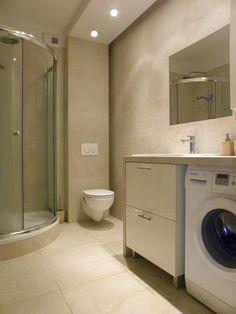 3_lazienka_blat_pralka Washing Machine, Laundry, Home Appliances, Bathroom, Laundry Room, House Appliances, Washroom, Full Bath, Appliances
