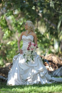 Such beauty on her wedding day! Photo by Tad Craig Photography