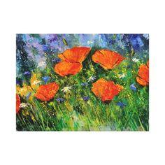 Orange poppies 79
