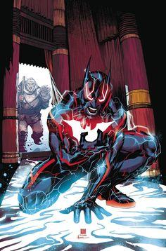Batman Beyond - Written by Dan Jurgens // Art and cover by Bernard Chang // Variant cover by Martin Ansin Batwoman, Batgirl, Nightwing, Comic Book Characters, Comic Character, Comic Books Art, Comic Art, Batman Fan Art, Im Batman