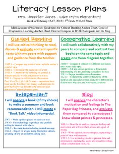 Hello Literacy: Informational Literacy Unit - Post Revised Good way to guide center planning for older students