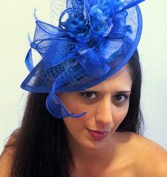 c685f168986 Royal Blue Fascinator Headband Royal Blue by FascinatorsFirst Royal Blue  Fascinator